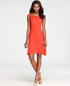 Ann Taylor - Twisted Strap Dress