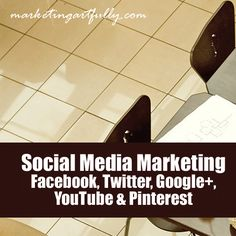 Social Media Marketing - Facebook, Twitter, Google+, YouTube and Pinterest    So today we are talking about social media marketing…that is Facebook, Twitter, YouTube (YES YouTube), Pinterest, Google Plus and all the other social media properties!    The thing about social media marketing that is hard is that consistency is the key! You have to do things every day (or at least a couple of times a week), with a plan and a goal in mind. These are some of my observations about the different...