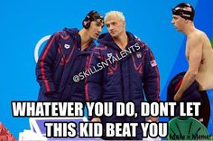 Coach thanks. But then your teammate who's younger than you beats you. You know who you are  it's cool tho.
