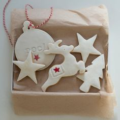 Christmas Cookie Gift Set personalised stocking by NilaHolden