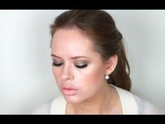 Jennifer Lawrence Hunger Games LA Premiere Makeup Tutorial--gorgeous olive, bronze, and peach look