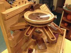 Brian Sanders's marble machine (woodgears.ca)