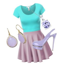 """""""pastel"""" by nature4ever on Polyvore featuring Le Silla, Bling Jewelry, women's clothing, women, female, woman, misses and juniors"""