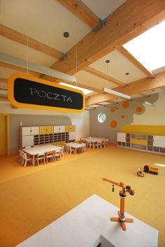 Salida de emergencia en guarderia tobogan play club for Jardin infantil serrano 78