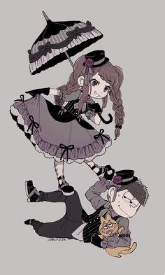 Ichimatsu, Movie Posters, Dark, Memes, Drawings, Kawaii Anime Girl, Drawings Of Girls, Fotografia, Sleeves