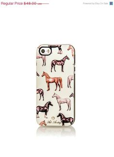 Equestrian print Rubber iPhone Case by ADIAMITAY - #CowgirlChic