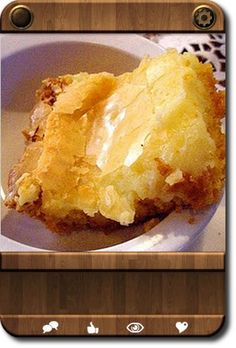 "Another pinner says...I FOUND IT! I FOUND MARCIA'S ""SECRET"" Gooey Butter Cake Recipe!!!!! VICTORY IS MINE!!!!!!!!!"