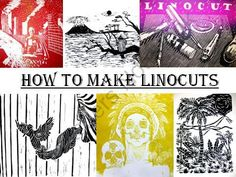 How to Make a Linocut...Linoleum printmaking from The Art Teacher on TeachersNotebook.com (126 pages)  - This Power-point presentation contains 126 slides and well over two hundred images which will teach you and your students how to create their own prints by carving linoleum.  It is intended for use as an attention getting introduction to linocuts and is s