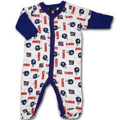 Baby NY Giants Sleeper