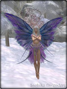 Faeline Fairy Wings - Sachiko (lavender)