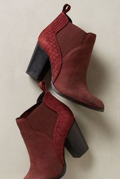 Seychelles Dorado Booties #anthrofave #anthropologie