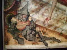 Strange armo kettle  Scale armor  Tegulated armor  Medieval armor 14th 15th century