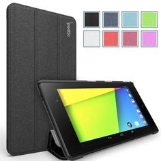 Poetic Slimline Case for Google Nexus 7 2nd Gen 2013 Android Tablet Black (With Auto Wake / Sleep Function) (3 Year Manufacturer Warranty From Poetic) in Pakistan | online shopping at magiclamp.pk