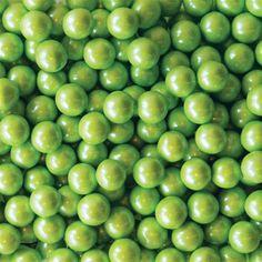Sixlets Kelly Green Shimmer + 2 lbs.