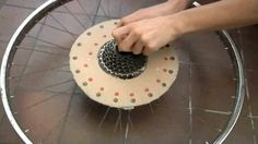 �The Cyclotrope� is a device recently built and animated by Tim Wheatley. It was inspired by early inventions for displaying motion pictures such as the Zoetrope and Praxinoscope.. http://illusion.scene360.com/video/16181/bicycle-wheel-animations/
