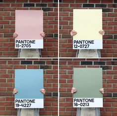 DIY Pantone Poster - Do It Yourself Pantone poster