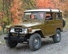 Rob & I had a landcruiser that looked almost like this one when we first married