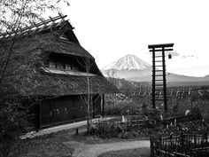 A Little Village near Mount Fuji Optical Illusion Wallpaper, Lake Wakatipu, Hdr Photography, Mount Fuji, Beautiful Sky, Optical Illusions, Nature Photos, Daily Inspiration, Places To Visit