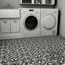 I want a floor like this in my laundry room.