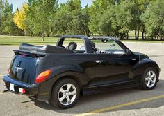 2007 PT Cruiser Convertible -- Sold the Beetle and bought this for my wife, I hated this car (2009)