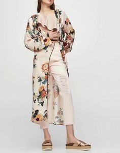 Long Sleeve Print Blouses Cardigan