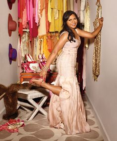 Mindy Kaling on Being a Very Happy Size 8