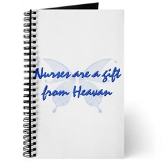 Gifts for nurses - Nurses are a gift from heavan Journal