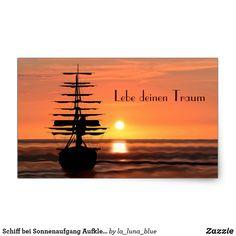 Schiff bei Sonnenaufgang Aufkleber Wind Turbine, La Luna, Sunrise, Decals, Simple, Nice Asses, Photo Illustration