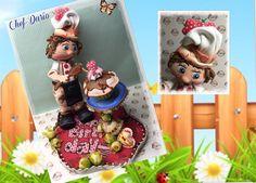 Creaciones Mamen 3ª parte Aula Virtual Gratis Chef-Darío paso a paso hec...