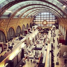Musée d'Orsay in Paris, Île-de-France'  Top Ten Sights [1000 places to see before you die]