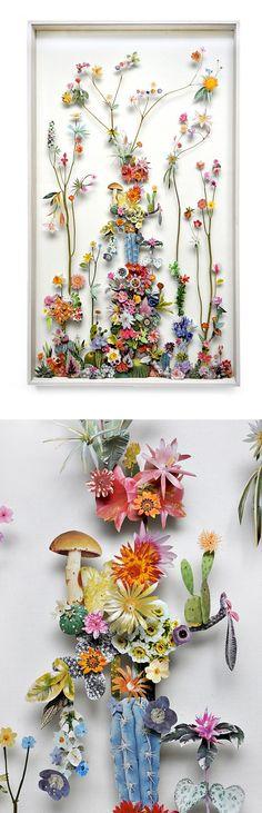 Floral sculptures / Anne Ten Donkelaar