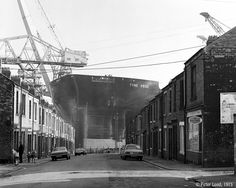 Tanker Tyne Pride, Swan Hunter's Shipyard, Wallsend