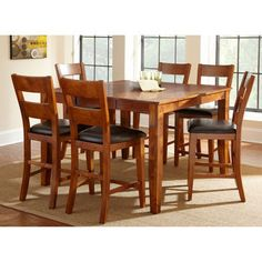 Costco Eliott 7 Piece Counter Height Dining Set