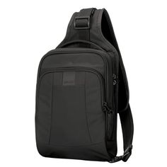 Metrosafe LS150 Anti-Theft Sling Backpack Black