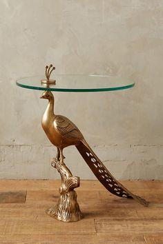 allthingspeacock - Peacock Side Table $398.00
