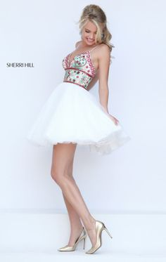 Sherri Hill 50475 by Sherri Hill ok i'm not about short prom dresses but i just LOVE this one