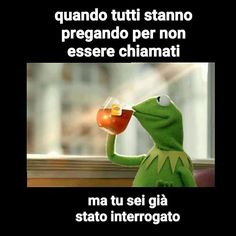 Read 1 from the story meme fatti da me (⌒▽⌒)☆ by mistycopal with reads. Funny Video Memes, Crazy Funny Memes, Funny Pins, Wtf Funny, Funny Facts, Funny Jokes, Hilarious, Wütender Smiley, Kermit