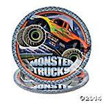 Monster Trucks Dinner Plates