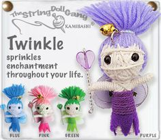 Twinkle, another one of the many cute string dolls available at kamibashi.com