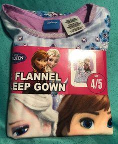 Details about New Girls HELLO KITTY Flannel NIGHTGOWN Sleep Gown Sleepwear  Set Size 4 5 d68f0259b