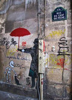 La rue du Chat-qui-Pêche  (Paris 5ème).