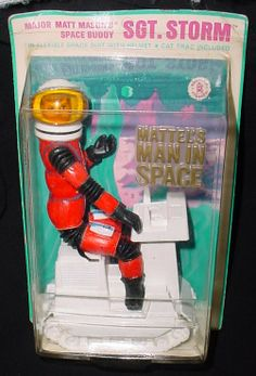 Major Matt Mason's Space Buddy SGT. STORM with Cat Tac. Vintage Toys 1970s, 1960s Toys, Retro Toys, Vintage Dolls, My Childhood Memories, Childhood Toys, Old School Toys, Space Toys, Popular Toys