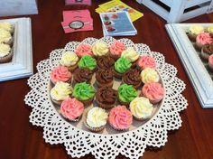 Mini cupcakes para nikky beach ibiza