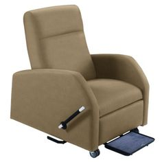 Hannah Bariatric Patient Recliner with Trendelenburg in Fabric #healthcare #decor | National Business Furniture