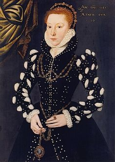 1565 Eleanor Benlowes (?) attributed to Steven van der Meulen (St. John's College, University of Cambridge - Cambridge UK) | Grand Ladies | gogm