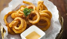 Click here to see the full recipe. Learn how to prepare Tasty Onion Rings