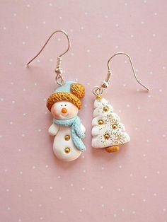 Snowman Earrings Christmas Gifts Secret Santa Gift Ideas