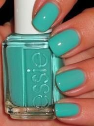 :) mint! One of my faves! I love Essie polishes!