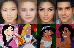Here's What Your Favorite Disney Princess Would Look Like in Real Life!