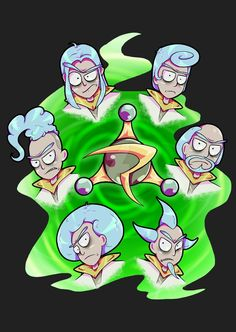Rick and Morty x Council of Ricks